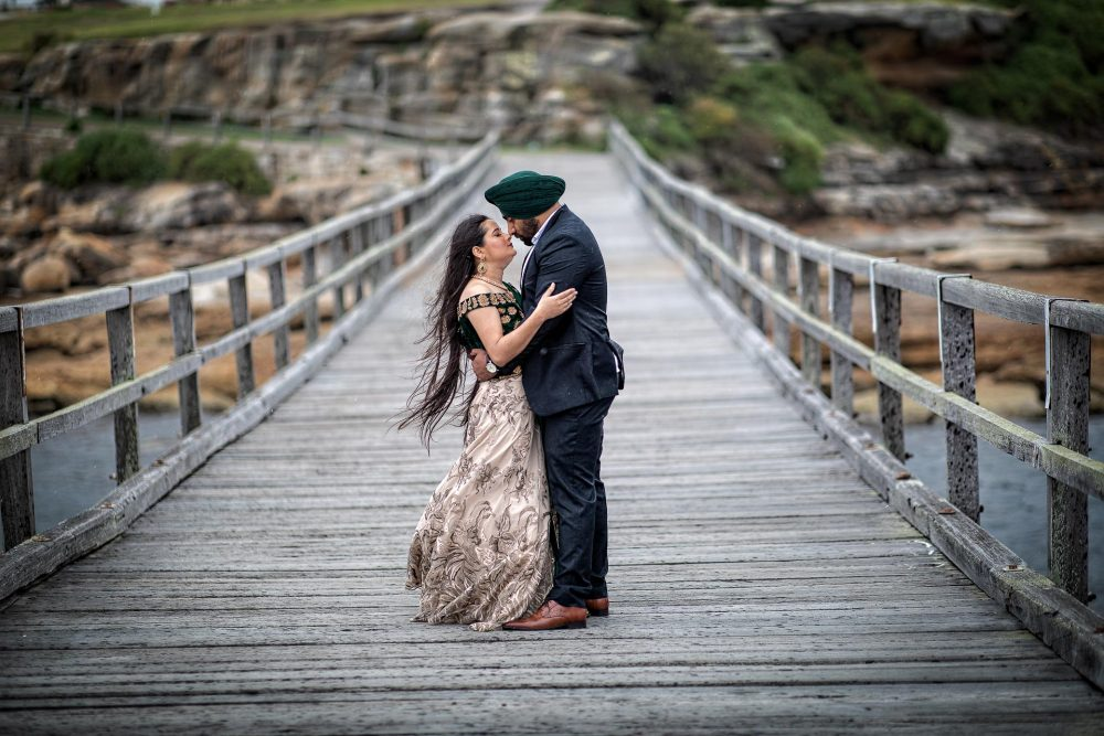 La Perouse Indian pre wedding photography