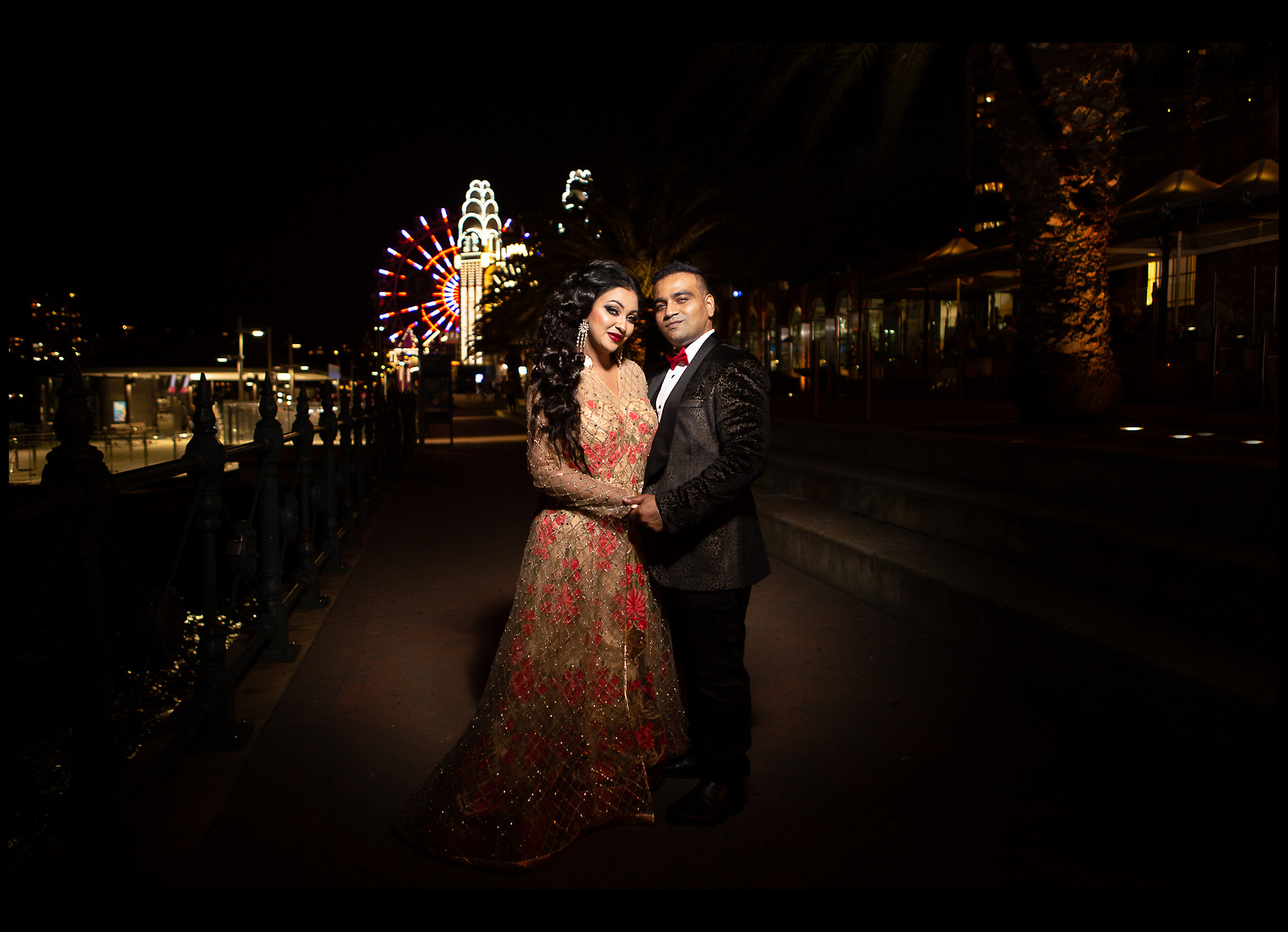 Luna Park Pre Wedding Photography