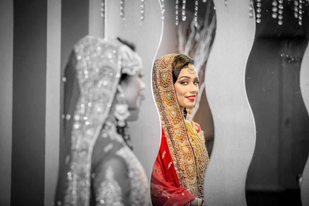 Pakistani wedding bride