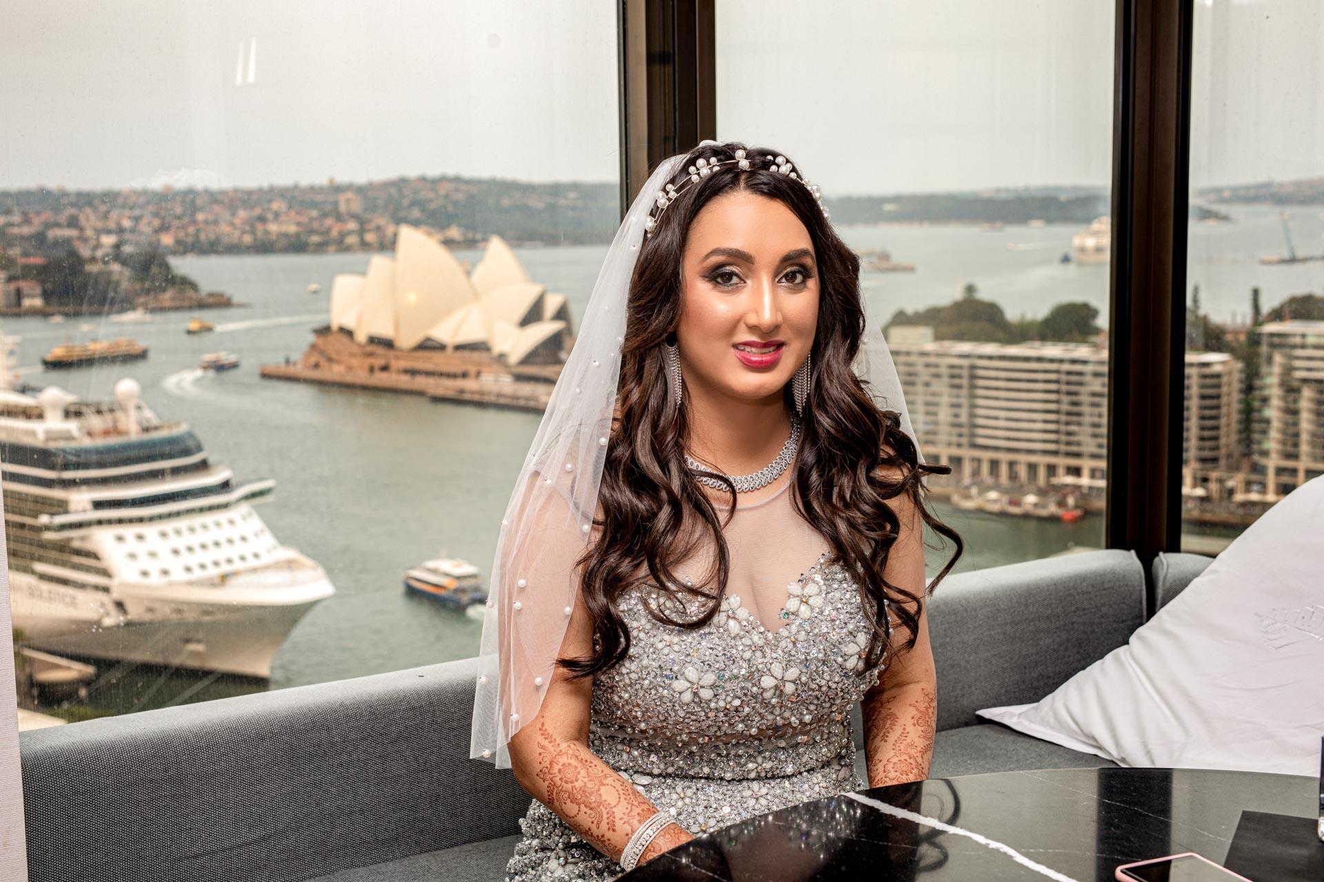 Four Seasons Hotel Bride Getting Ready