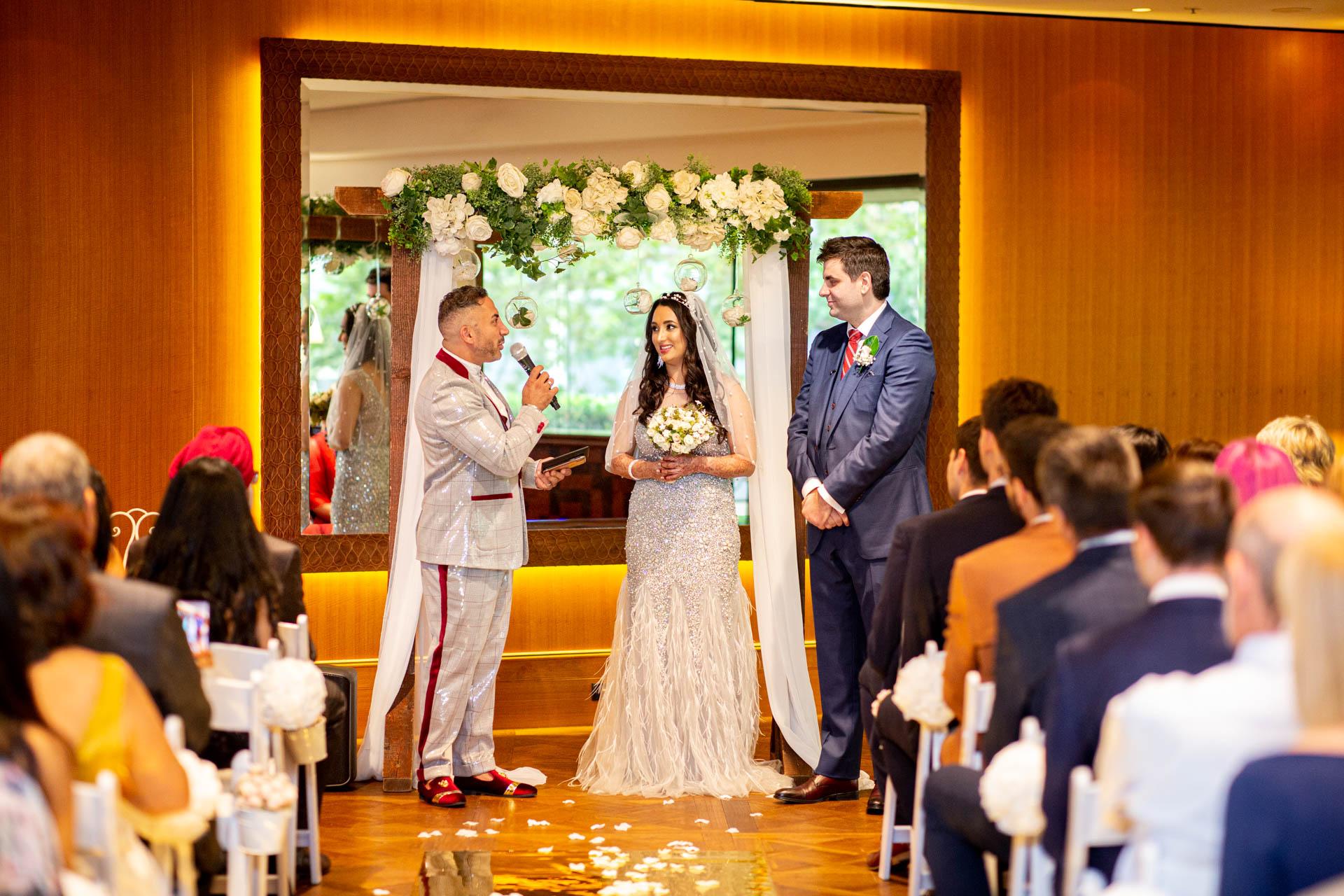 Four Seasons Hotel Ceremony