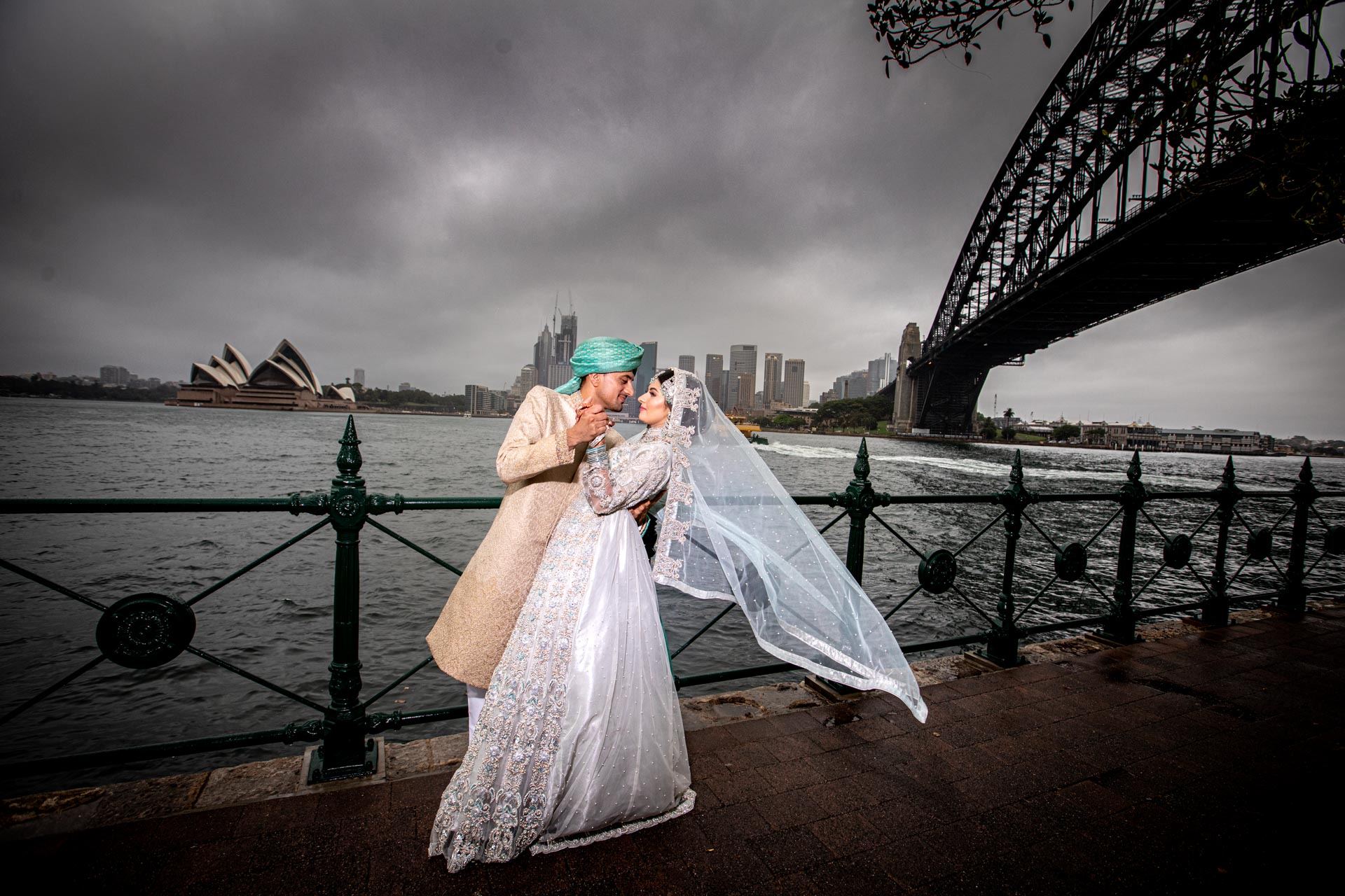 Beautiful Pakistani Couple at Milson Point